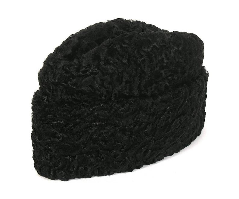 94683188259 Persian Lamb Ambassador Pie Hat