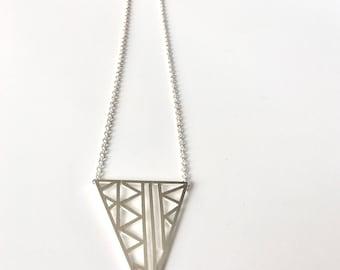 Lattice Triangle Necklace