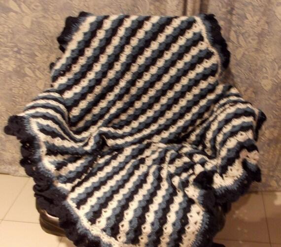 Granny Square Häkeln Plaids Decke Häkeln Wolle Decke Auch Etsy