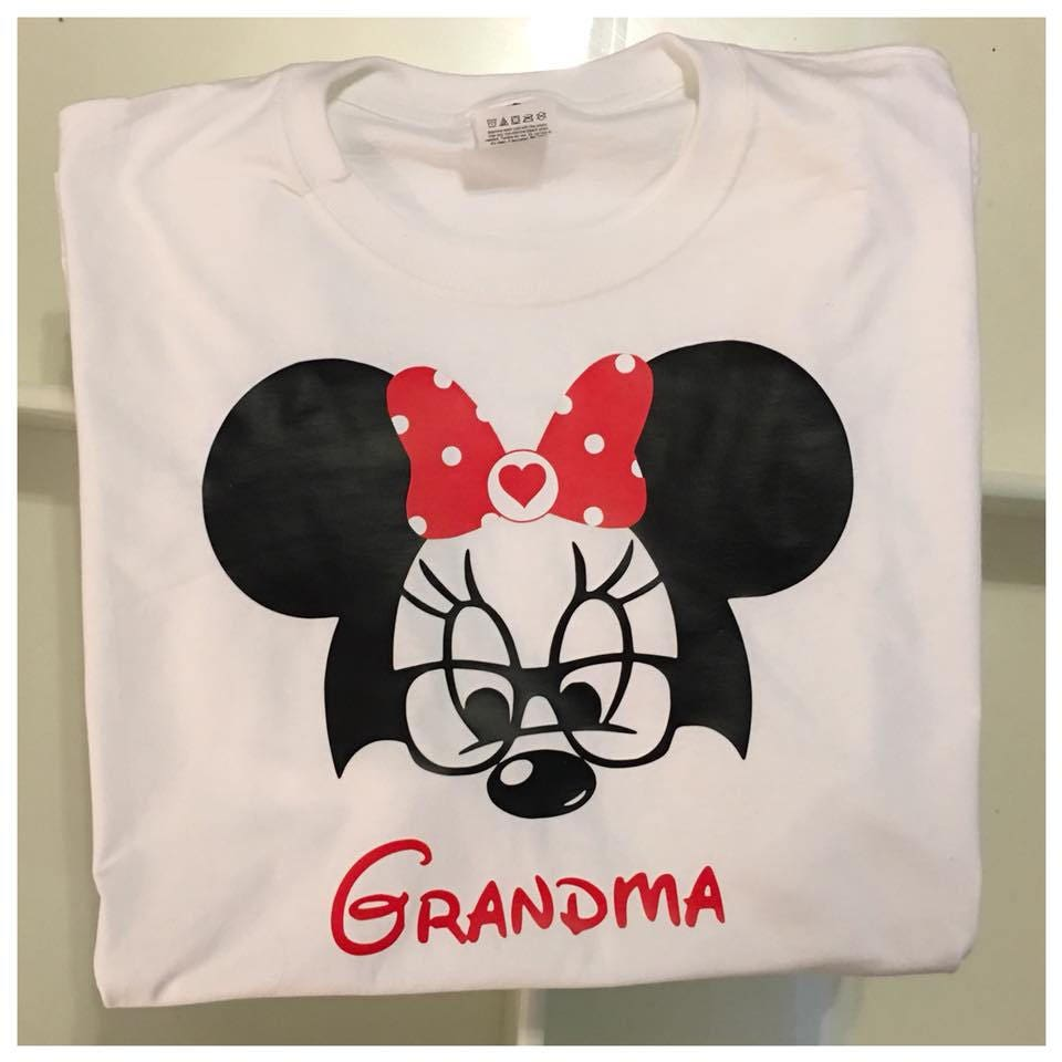 Grandma Grandpa Mickey And Minnie Mouse Shirts Grandparent