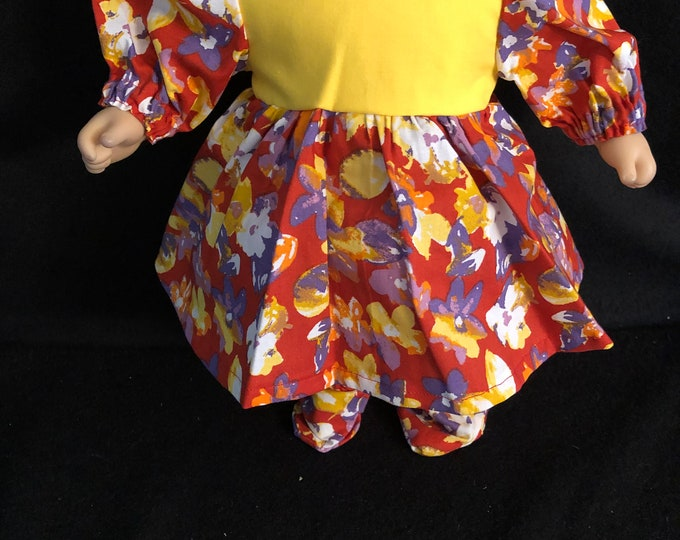 """Featured listing image: American Handmade Girl 15"""" doll clothes."""