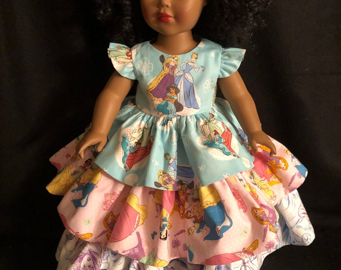 """Featured listing image: American Handmade Girl 18"""" doll clothes."""
