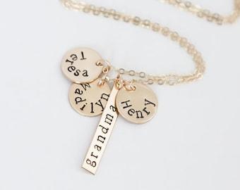 grandma necklace etsy