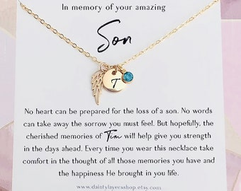 SympathyGrief Necklace sympathy gift dainty womens necklace miscarriage gift sympathy necklace grief gift encouragement gift