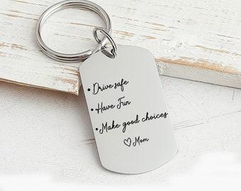 Personalized Sweet 16 Keychain