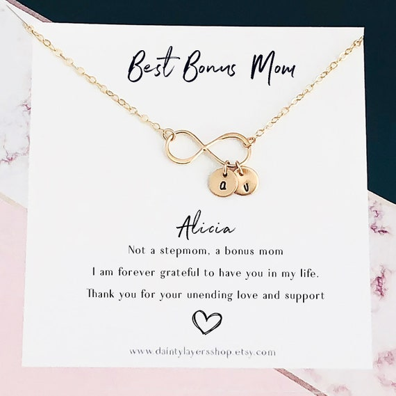 Stepmother of the Bride Gift to Step Mom Bonus Mom of the Bride Gift for Stepmom Gift for step mother gift Stepmom wedding gift Stepmom Gift