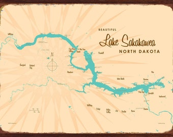 Lake sakakawea map | Etsy on yemen physical features, yemen mountains, yemen sports,
