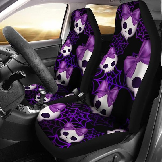 Lady Skull Car Seat Covers Cover For