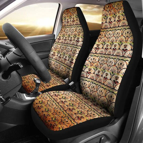 Boho Grunge Car Seat Cover 5 Accessories
