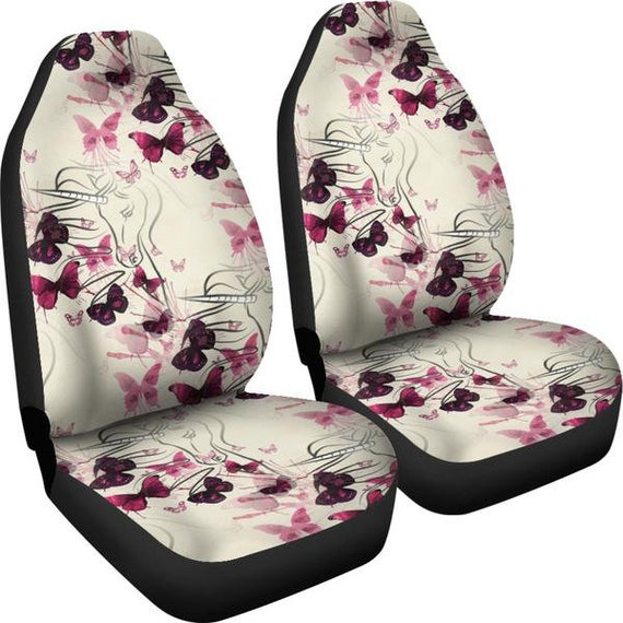 Unicorns Butterflies Car Seat Covers Accessories