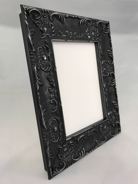 Black Ornate Picture Frame 3x5 4x6 5x7 8x10 11x14 16x20 | Etsy