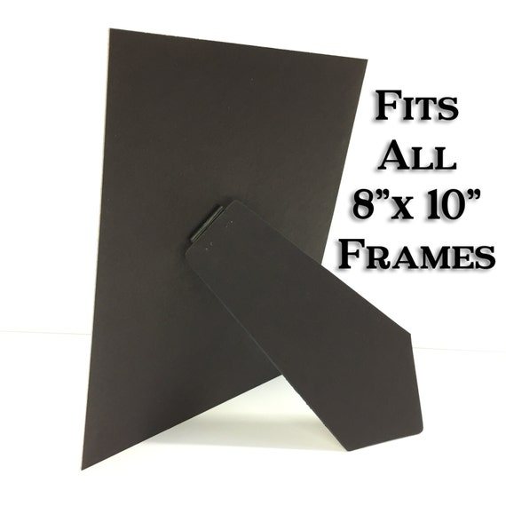 Picture Frame Easel 8x10 Picture Frame Easel Backing Picture Etsy