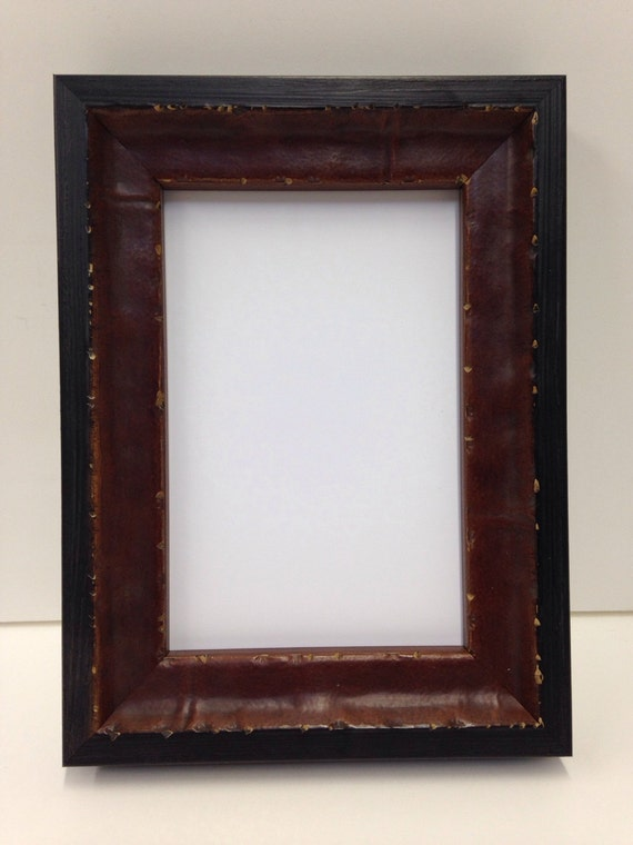 Distressed Wood Picture Frame Mahogany Color 3x5 4x6 5x7 Etsy