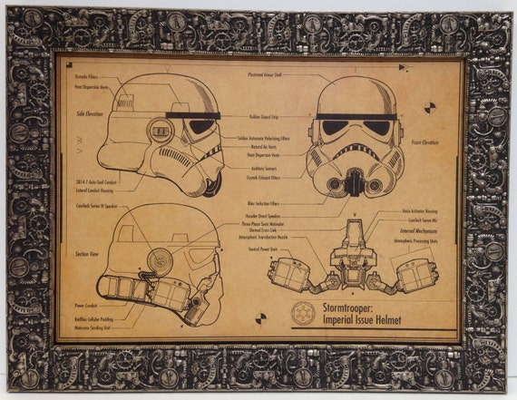 CHOOSE YOUR SIZE! FREE P+P Star Wars Poster POP ART Stormtrooper Large Quality