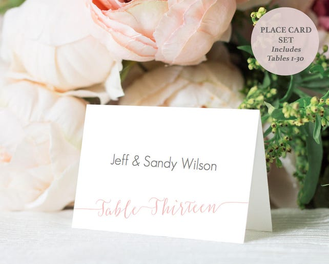 microsoft word tent card template
