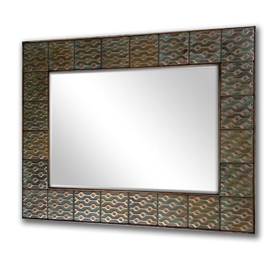 Artistic frames mirrors Rustic mirror Copper mirror frame.