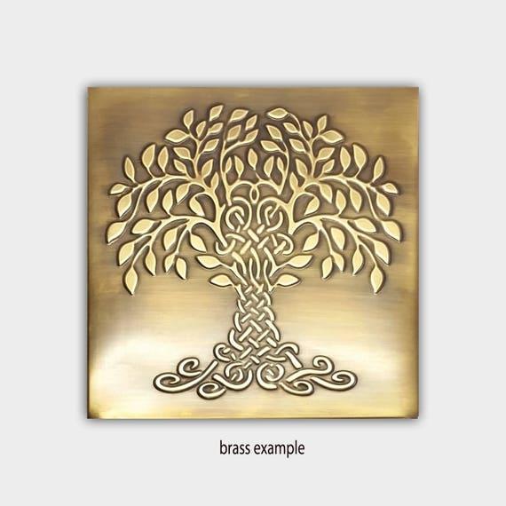 Tree of life tree of happiness metal wall art metal