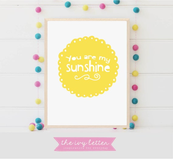 image about You Are My Sunshine Printable identify Women of all ages solar print, Oneself are my solar, Sun printable, Gals sun Artwork, Sunlight Wall Artwork, Small children Printable Artwork, Solar poster