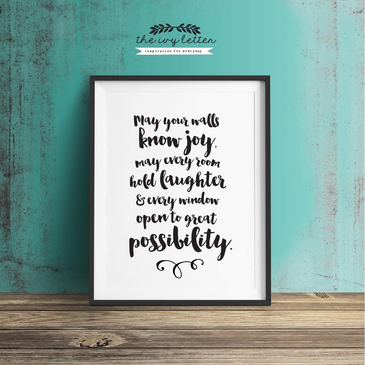 May Your Walls Know Joy Printable Wall Art Quotes