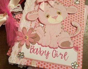 Brag Book / Mini Album - Baby Girl Baby Animals
