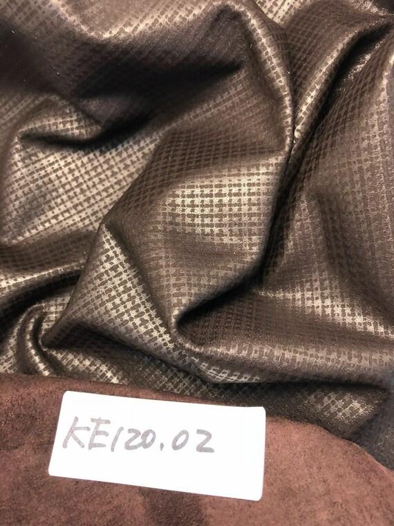 Italian Sheepskin Leather Skin Hide Soft perfect Olive Pearlized 10 Sq.Ft 1.5 oz