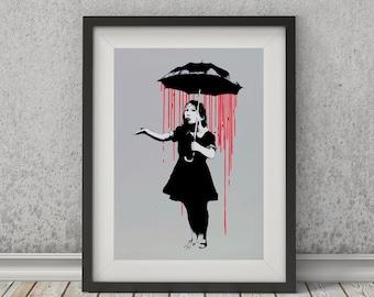 Nola by Banksy Art Print