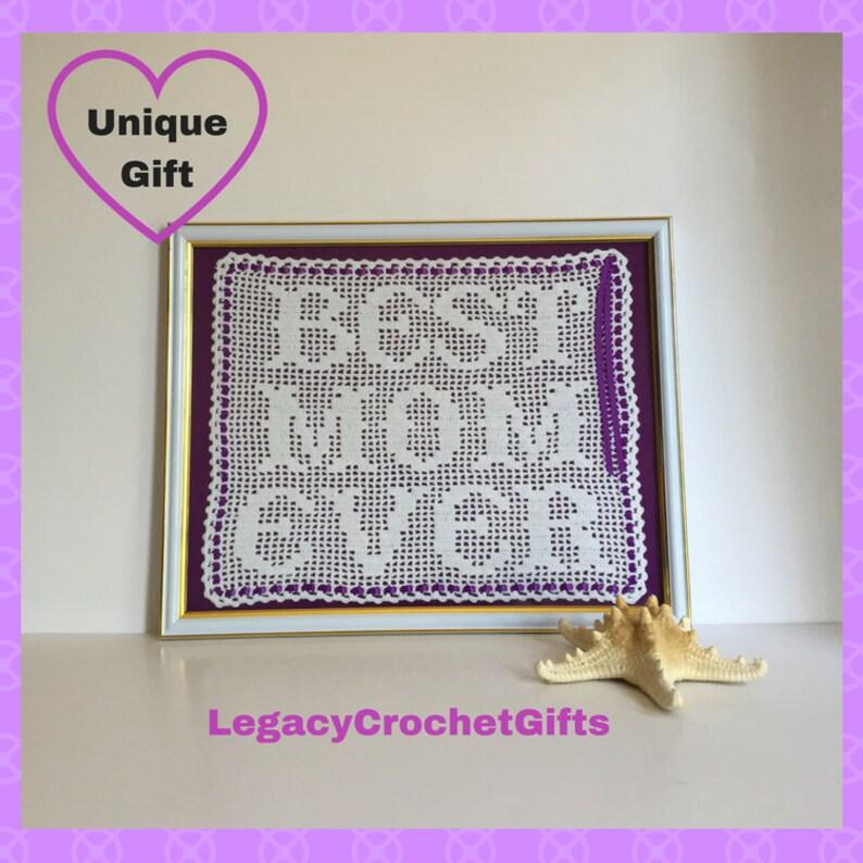 Birthday Gift Ideas For Mom Best Ever Framed Crochet