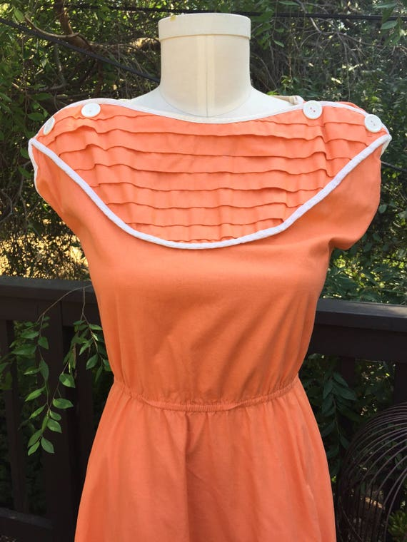 1950's Peaches N Cream Sundress