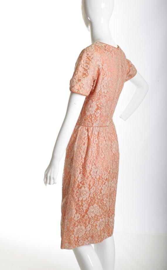 Vintage Wiggle Lace Dress - image 5