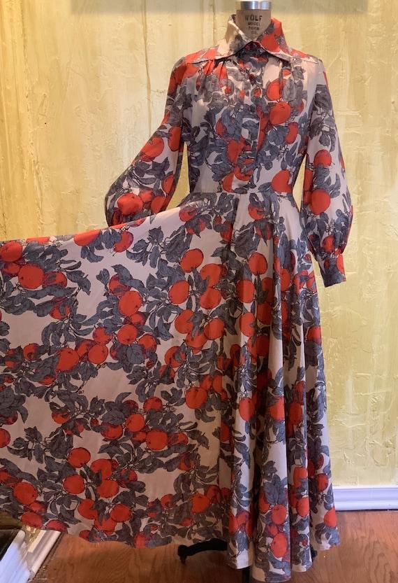 Jean Varon Iconic Apple Dress