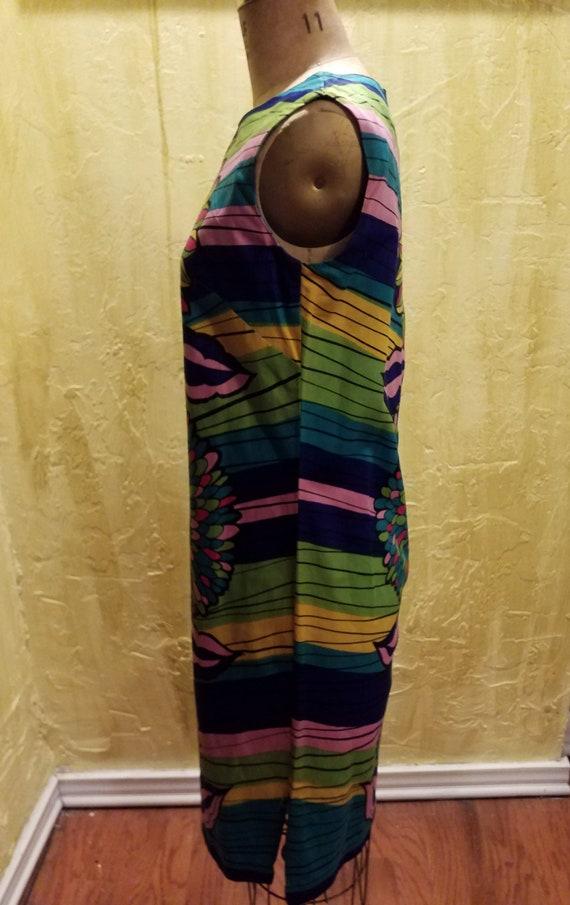 Vintage Floral Cotton Dress - image 2