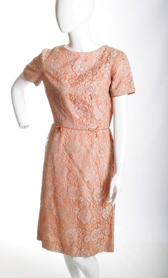 Vintage Wiggle Lace Dress - image 2