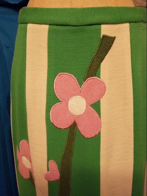 Vintage Wool Maxi Skirt - image 4