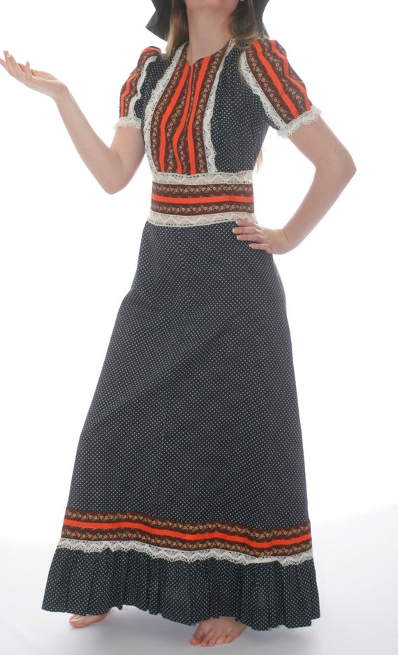 Prairie Cotton Lace Maxi Dress