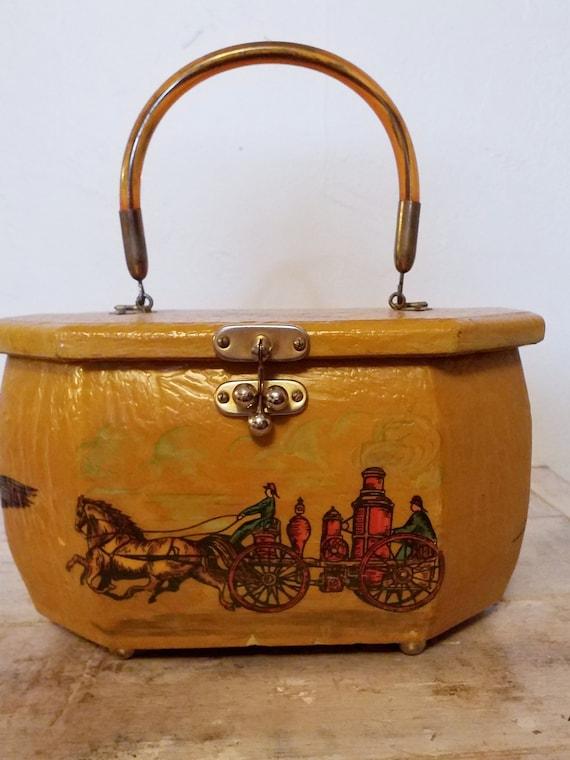 Retro Box Bag