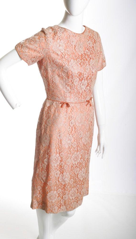 Vintage Wiggle Lace Dress - image 1