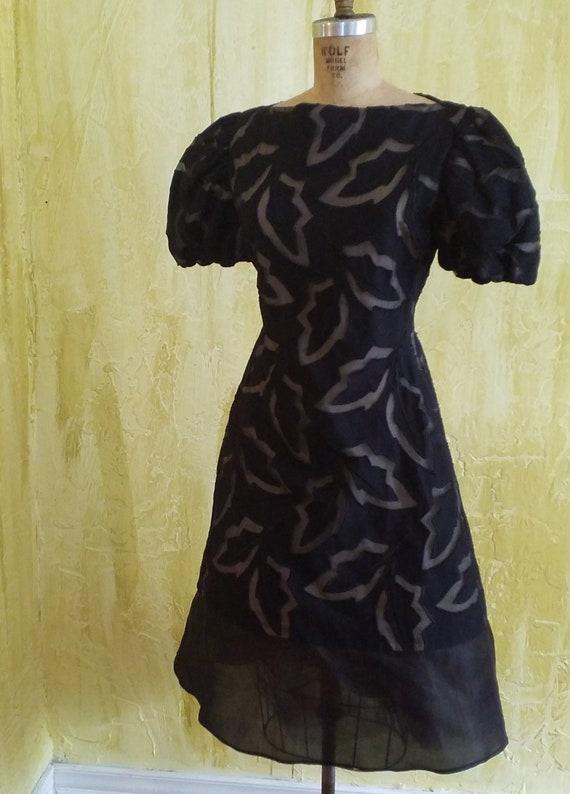 Scaasi Dress