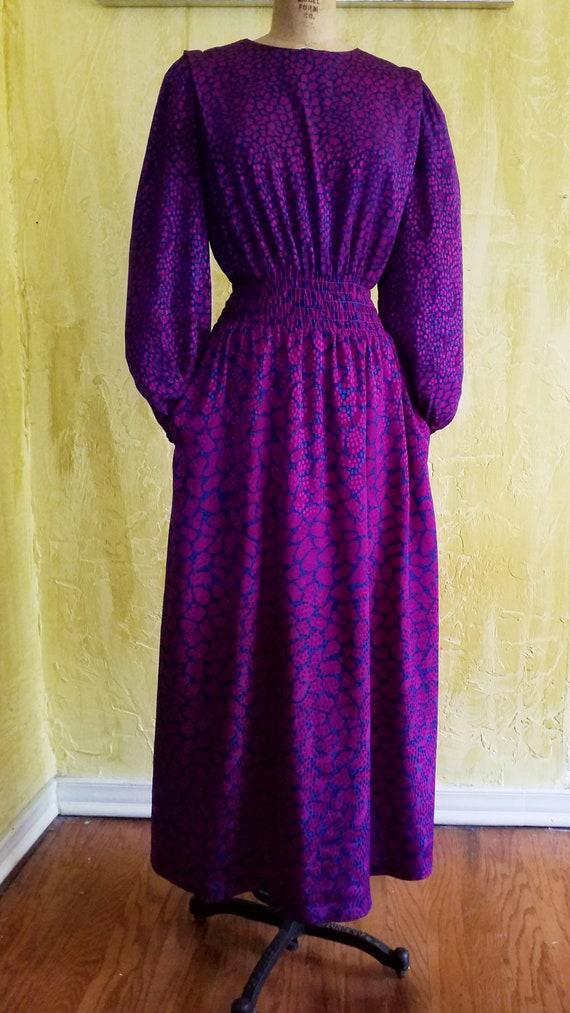 70s Bohemian Maxi Dress