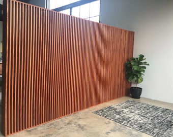 Wood Wall/Partition