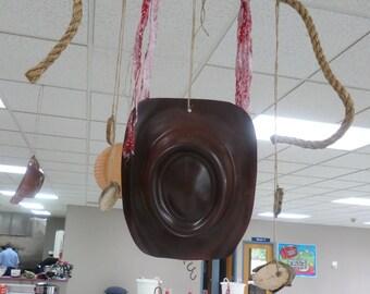 Western Party Decorations~Cowgirl Cowboy Decoration~Western Theme Party Decoration~Cowgirl~Rope w/Hat or Wagon Wheel Garland~Rustic Wedding
