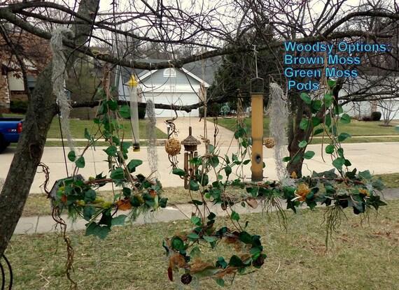 Lampadario Allaperto : Enchanted forest decorazioni lampadario 19 cerchio etsy
