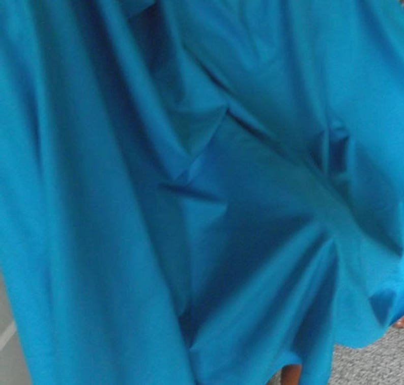 Turquoise Silk Tweed Tusah Fabric