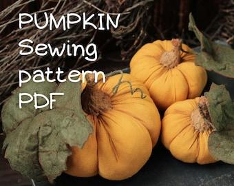 Pumpkin pattern, diy halloween decor, pin cushion