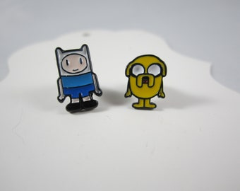 Adventure Time inspired studs earrings
