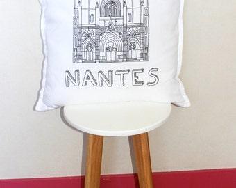 Coussin cathedrale de Nantes