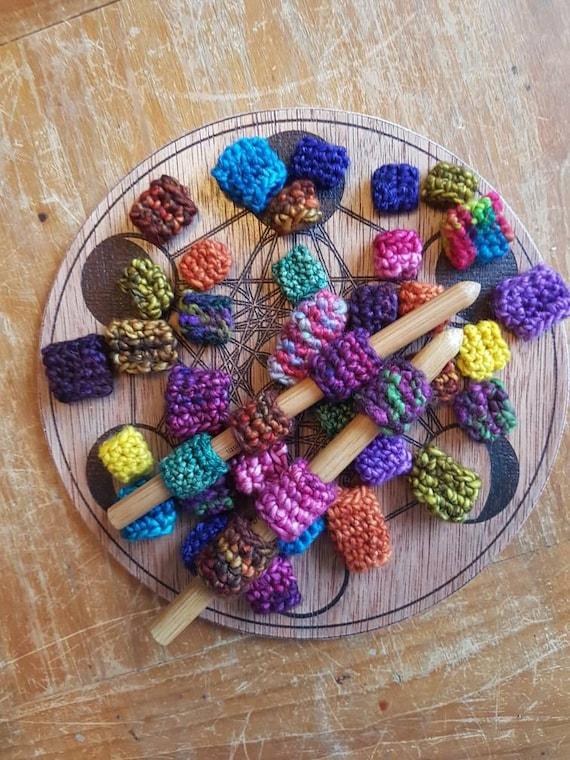 X8 DREAD perles / / crochet / / Malabrigo / /
