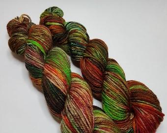 Hand dyed Merino Superwash yarn, Aran weight, 100g, SIGULDA