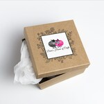 Mystery Yarn Box, monthly yarn box, yarn subscription, surprise yarn box, hand dyed yarn