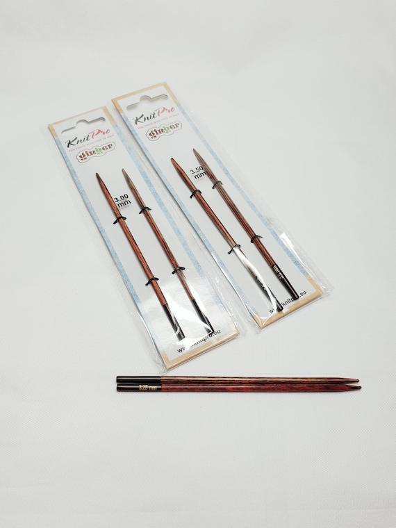80cm wooden needles Knitpro GINGER circular needles 2-12 mm