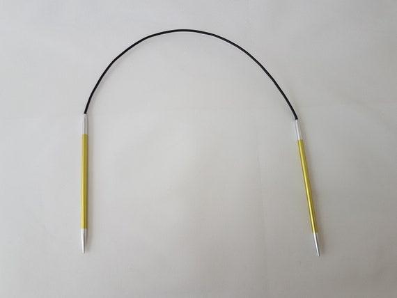 de longueur 16 pouces Knitpro zing circulaire aiguilles à tricoter 40cm tailles 2-6 mm.